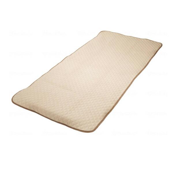 防水パット ベージュ 2072-91923 94×194cm 西川 (ベッド 介護 寝具) 介護用品