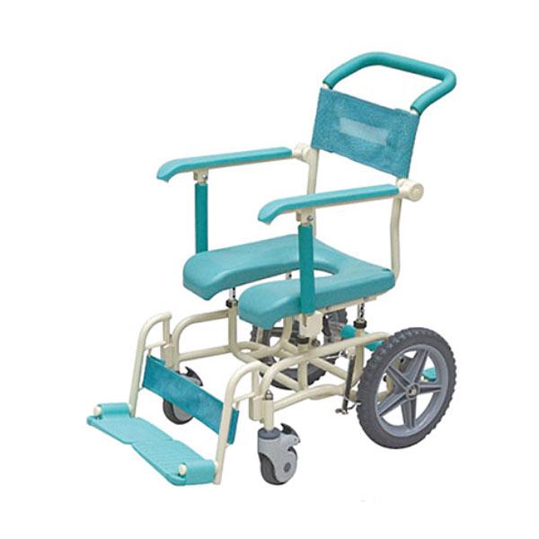 (代引き不可) シャワーキャリー ラージキャスター サイサポートタイプ CAK-310S 矢崎化工 (お風呂 椅子 浴用 シャワーキャリー 背付き 介護 椅子) 介護用品【532P16Jul16】