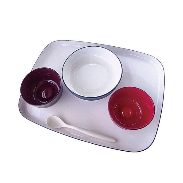 【当店は土日はポイント+5倍!!】五感で楽しむ自立支援食器IROHA iroha02 基本セット 大成樹脂工業 介護用品