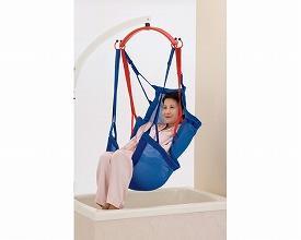 (当店は土・日曜日はポイント+5倍!!)(代引き不可) スリングパオ メッシュブルー フルサイズ PAO150 モリトー (リフト用吊り具 スリングシート 移動用リフトのつり具部分) 介護用品