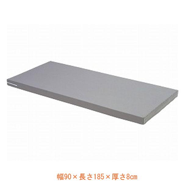 (代引き不可) シーホネンス ダブルウェーブマットレス MB-2510L ショート (幅90×長さ185×厚さ8cm) (ウレタンマット リバーシブル 通気性 体圧分散 床ずれ予防 介護) 介護用品