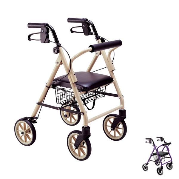 ハッピーミニ 117002 117003 竹虎 ヒューマンケア事業部 (歩行車 シルバーカー 折り畳み) 介護用品