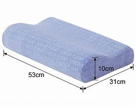 ヴィスコフロート製 ジャポニカ安眠枕 M / VT202 介護用品