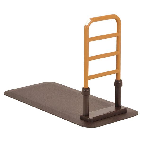 (代引き不可) ルーツ サイドタイプ MNTPLBR モルテン (立ち上がり手すり 立ち上がり補助手すり おきあがり 室内 転倒防止 ベッド 手すり) 介護用品