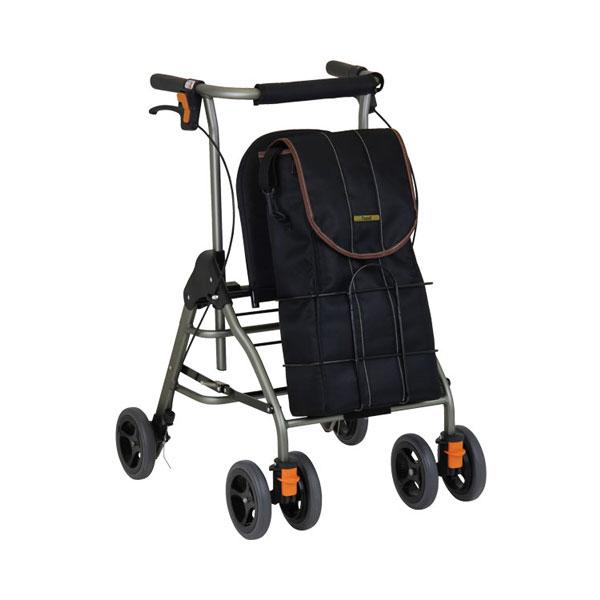 (当店は土日はポイント+5倍!!)テイコブリトルボンベ WAW06 幸和製作所 (歩行車 歩行補助 酸素ボンベ シンプル 折りたたみ) 介護用品
