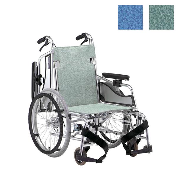 (代引き不可)松永製作所 アルミ自走式車いす エアリアルMW-SL5B (超低床 軽量 スイングアウト) 介護用品【532P16Jul16】