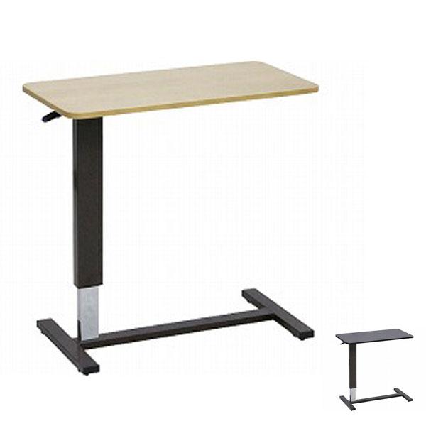 (代引き不可) ベッド用昇降テーブル LW-80 大商産業 (介護ベッド ベッド サイド テーブル キャスター 高さ調節 テーブル) 介護用品