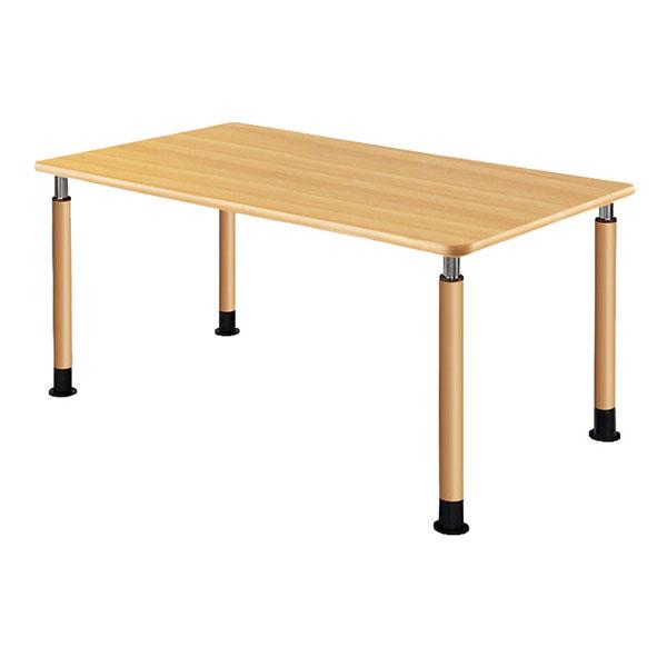 【当店は土日はポイント+5倍!!】(代引き不可)介援隊 昇降テーブル 4本固定脚 UFT-4T1690-NKL1 (3) (施設用テーブル) 介護用品