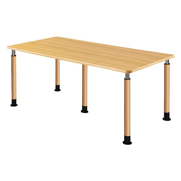 5本固定脚 昇降テーブル (施設用テーブル) UFT-5T1890-NKL1 介護用品 (代引き不可)介援隊 (4)