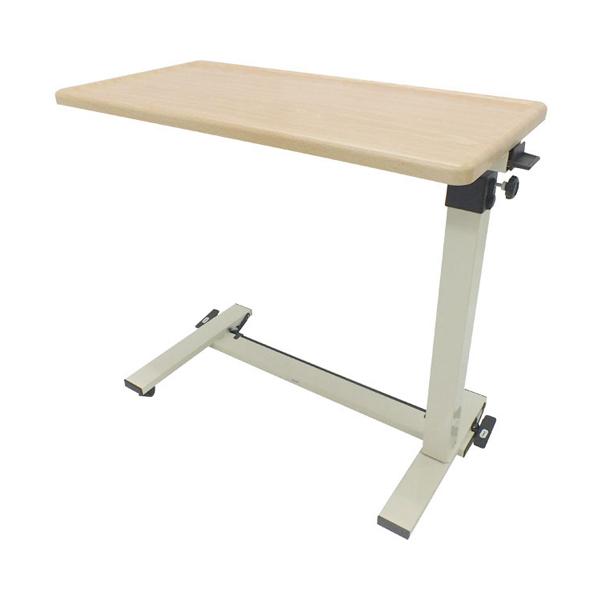 【当店は土日はポイント+5倍!!】ベッドサイドテーブル KL No.730 板バネタイプ (介護ベッド 車椅子 ベッド サイドテーブル キャスター 高さ調節 テーブル) 介護用品