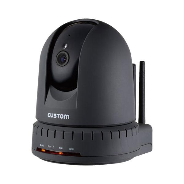 (当店は土・日曜日はポイント+5倍!!)(代引き不可)温湿度センサー付IPカメラ IPC-01TH カスタム 介護用品