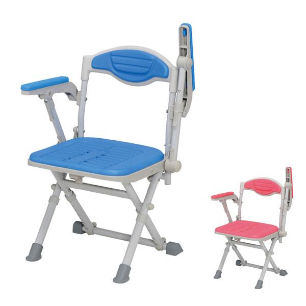 湯チェア16 肘ありタイプ UC-115 UC-125 ウチエ (お風呂 椅子 浴用 シャワーチェア 背付き 介護 椅子) 介護用品