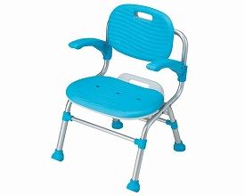 幸和製作所 テイコブ シャワーチェアSC01 背・肘掛け付タイプ(入浴用品 お風呂用いす 入浴用椅子)介護用品