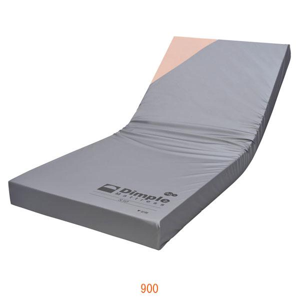 (代引き不可) ディンプルマットレス 900 CR-541 (幅90×長さ191×厚さ12cm) ケープ (ウレタンマット 褥瘡予防 マット 体圧分散 床ずれ予防 介護) 介護用品