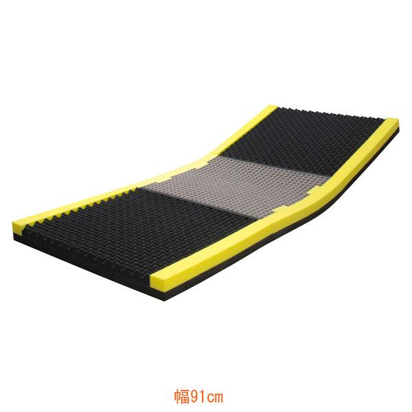 (代引き不可) ピタ・マットレス コンフォタイプ 三つ折り 幅91cm PTZT91FA 日本ジェル (床ずれ予防 体圧分散) 介護用品
