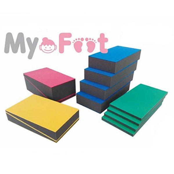 (4/5日限定 当店全品ポイント2倍!!)My Foot (マイフット) フルセット インフィック (踏み台 高さ調整 車いす 車椅子 座位保持 姿勢保持) 介護用品