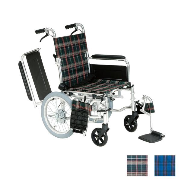 (代引き不可) アルミ介助用車いす セレクト70 KS70-4043 マキテック (車椅子 折りたたみ) 介護用品