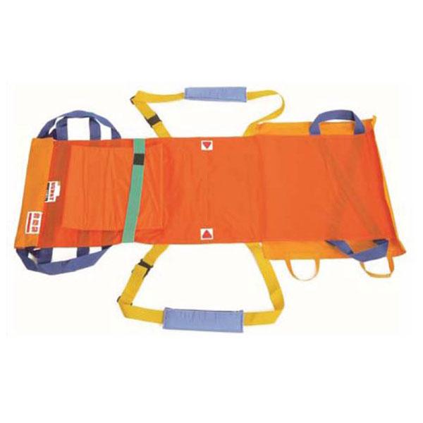 (代引き不可) 救護担架ベルカ SB-160 収納袋付 松岡 (介護 災害 避難 防炎加工 防水加工 撥水加工) 介護用品