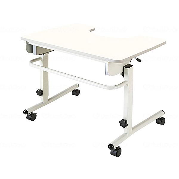 (代引き不可) 安心テーブル ANT-01NW マキテック (車椅子 テーブル キャスター 折りたたみ) 介護用品【532P16Jul16】