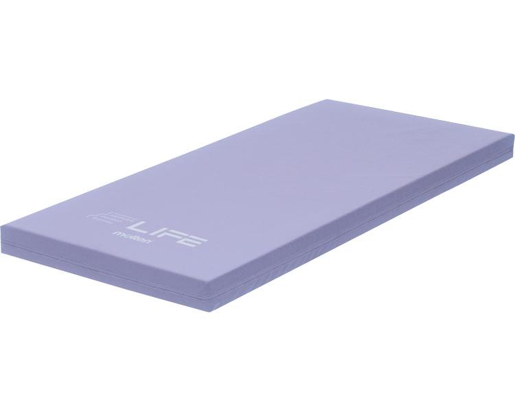 (代引き不可)モルテン ライフ 防水・清拭タイプ 91cm幅ショート MLF91SLBL (体圧分散マットレス 床ずれ防止マット 介護 マット) 介護用品