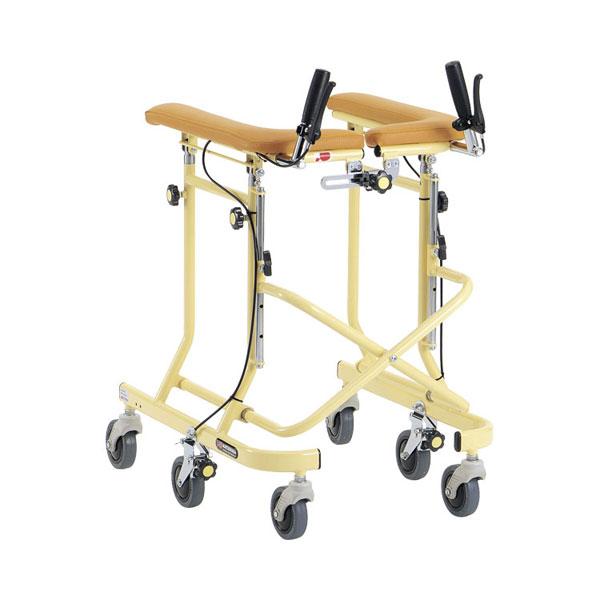 (代引き不可)6輪歩行器 ホップステップ SM-40S スモールタイプ 松永製作所 (歩行器 室内 ブレーキ付)介護用品【532P16Jul16】