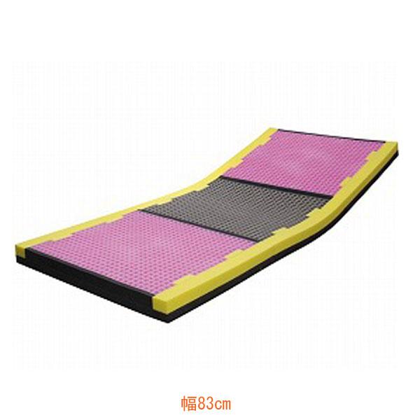 (代引き不可) ピタ・マットレス ケアタイプ 三つ折り 幅83cm PTMT83FA 日本ジェル (床ずれ予防 体圧分散) 介護用品