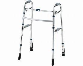 (1/1から1/5までポイント2倍!!)イーストアイ セーフティーアームウォーカー Cタイプ ストレートキャスタータイプ ハイタイプ SAWCHR (介護 歩行器 歩行補助器 折たたみ) 介護用品