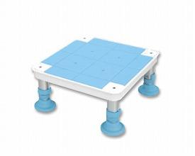 幸和製作所 テイコブ 浴槽台 小サイズ 高さ13~16cm YD01-13 (入浴補助 浴槽用イス 介護 用 踏み台) 介護用品