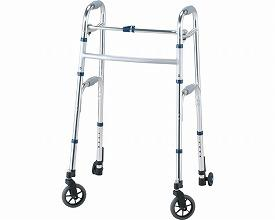 イーストアイ セーフティーアームウォーカーLタイプ ハイタイプSAWLHR 固定型キャスタータイプ(歩行器 歩行補助)介護用品