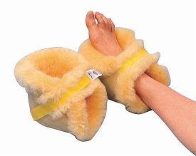ナーシングラッグ かかとあて NR-07(2個1組)ウィズ (かかと サポーター 羊毛 床ずれ 防止 クッション 体圧分散 クッション) 介護用品