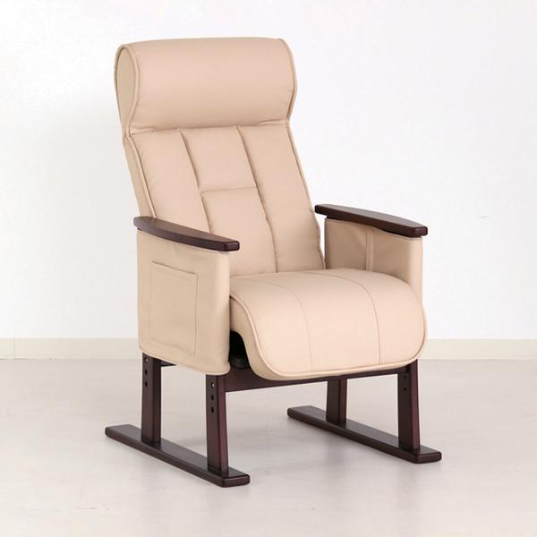 立ち上がりを楽にサポート スーパーセール ポイント2倍 代引き不可 立ち上がり補助椅子 Care-409-SAC ブラウン 背もたれ 介護用品 いす グローリープラン 肘掛け SALE開催中 介護 品質保証
