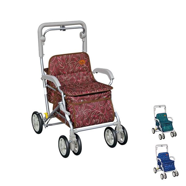 ユーメイト HGT 518 須恵廣工業 (シルバーカー 折りたたみ) 介護用品
