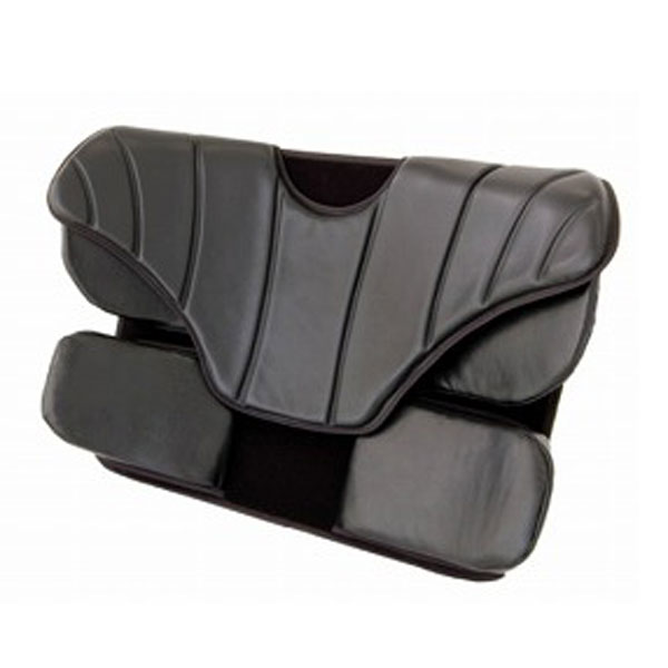 アウルサポート カバー付バッククッション OWLS-B01 加地 (車いす用クッション 車いす用 ゲル クッション 背クッション 体圧分散) 介護用品