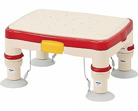 アロン化成 安寿 高さ調節付浴槽台R (滑り止めシート) (浴槽内いす 入浴用踏台 介護 用 踏み台 入浴用品) 介護用品