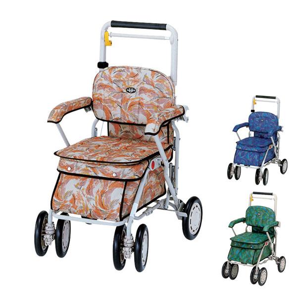 サンホリディU248 象印ベビー (シルバーカー 手押し車 折りたたみ 介護 シルバー カー) 介護用品