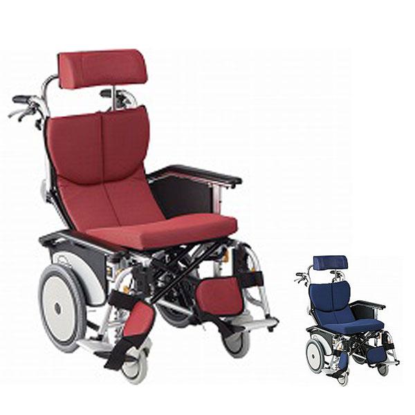 (代引き不可) 松永製作所 オアシスポジティブ 介助式車いす OS-12TRSP ストレート金具 オプションカラー (車椅子 リクライニング ティルト) 介護用品