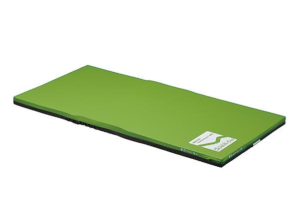 (代引き不可)ストレッチスリムマットレス 清拭タイプ 91cm幅 / パラマウント KE-772SQ ミニサイズ(介護ベッド用マットレス 体圧分散マットレス)(日・祝日配達不可 時間指定不可) 介護用品