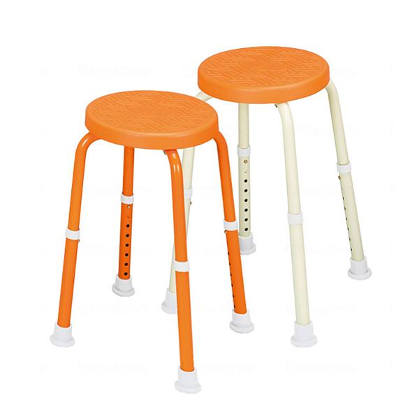 シャワーチェアー 福浴 回転シャワーチェア プチ・トール FKB-06-30 サテライト (介護用 風呂椅子 浴室 椅子 チェア 背もたれなし 回転椅子)介護用品