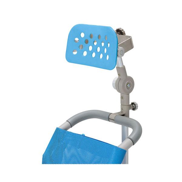 (代引き不可)ヘッドレストD 7063 ウチヱ (車椅子 部品 お風呂 椅子 浴用 シャワーキャリー 背付き 介護 椅子) 介護用品