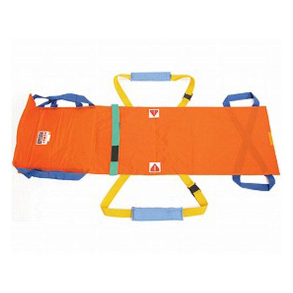 (代引き不可) 救護担架ベルカ SB-180 収納袋付 松岡 (介護 災害 避難 防炎加工 防水加工 撥水加工) 介護用品