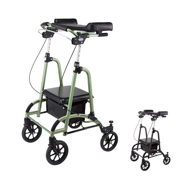(代引き不可) 歩行車 friend (フレンド) II WF-2 ウェルパートナーズ (歩行器 歩行補助 折りたたみ) 介護用品