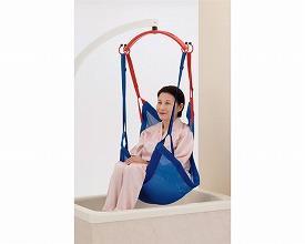 (キャッシュレス還元 5%対象)(代引き不可) スリングパオ メッシュブルー ハーフサイズ PAO140 モリトー (リフト用吊り具 スリングシート 移動用リフトのつり具部分) 介護用品
