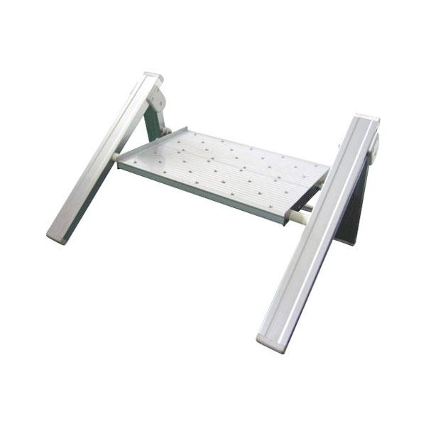 (代引き不可) ユニバステップ 1段 W650 シンドー (ステップ 折りたたみ) 介護用品