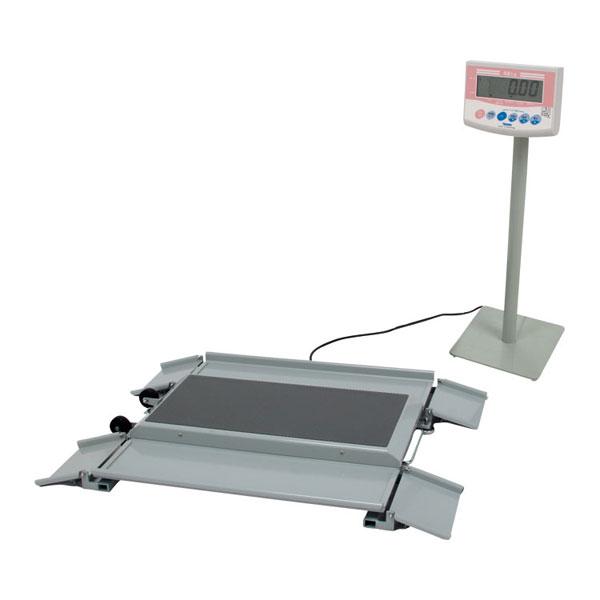 (代引き不可) 車いす用デジタル体重計 (検定品) DP-7101PW-K 大和製衛 (体重計 健康管理) 介護用品