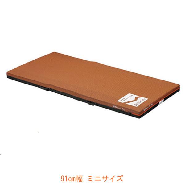(代引き不可) ストレッチフィット 通気タイプ 91cm幅 KE-782TQ ミニサイズ パラマウントベッド (ウレタンマット 介護ベッド 褥瘡予防 マット 体圧分散 床ずれ予防 通気) 介護用品