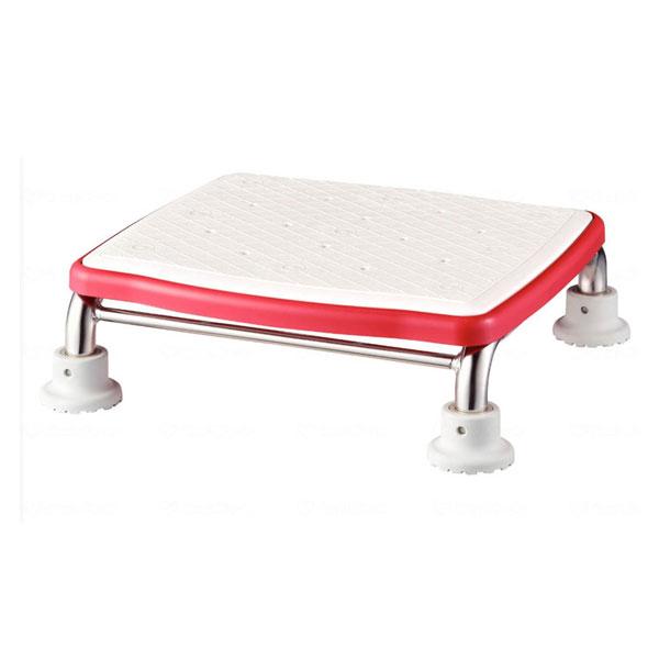 アロン化成 安寿 ステンレス製浴槽台Rジャストソフト10 536-500 (入浴補助 浴槽用イス 踏み台) 介護用品