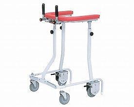 (1/1から1/5までポイント2倍!!)(代引き不可) 折りたたみ式歩行車 抵抗器・グリップ付 TY157B-SLG 日進医療器 (歩行補助 小回り 折りたたみ) 介護用品