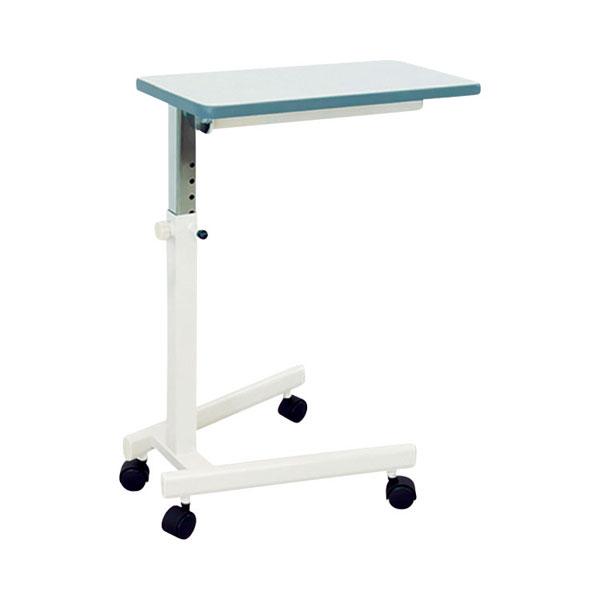 (キャッシュレス還元 5%対象)【受注生産品】(代引き不可) 万能テーブルTB-11 高田ベット製作所 (介護ベッド ベッド サイドテーブル キャスター 高さ調節 テーブル) 介護用品