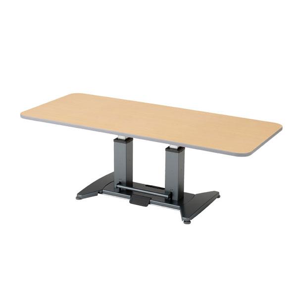 (代引き不可)折りたたみ昇降テーブル / TLX 6~8人用 奥行90cm ピジョンタヒラ 介護用品