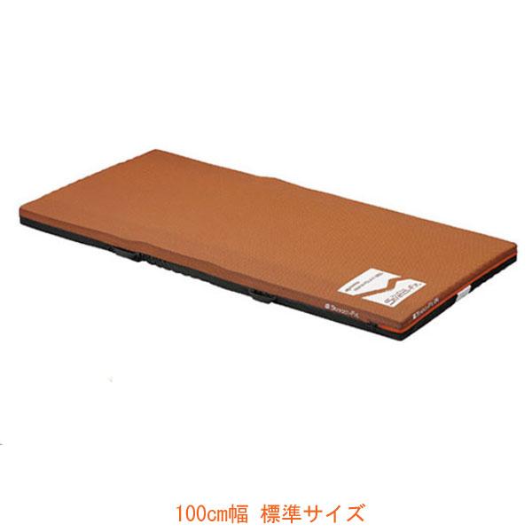 (代引き不可) ストレッチフィット 通気タイプ 100cm幅 KE-787TQ 標準サイズ パラマウントベッド (ウレタンマット 介護ベッド 褥瘡予防 マット 体圧分散 床ずれ予防 通気) 介護用品